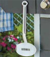 FOOTBALL GUITAR SHAPED BBQ STAINLESS STEEL SPATULA SERRATED EDGE BOTTLE OPENER