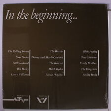 BEATLES & OTHERS: In The Beginning... LP Sealed (promo-only, 2 Beatles tracks,