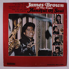 JAMES BROWN: Handful Of Soul LP (Mono, drill hole thru lbl) Soul