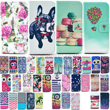 For Samsung Galaxy S6 S5 S4 S3 Fashion Design PU Leather Money Wallet Cover Case