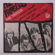 TROGGS: I Can't Control Myself / Gonna Make You +2 45 (Brazil, EP w/ VG+ PC w/