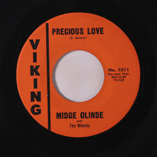 MIDGE OLINDE: Precious Love / Driving Wheel 45 (strong VG) Oldies