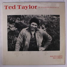TED TAYLOR: Be Ever Wonderful LP (M- cover in shrink) Soul