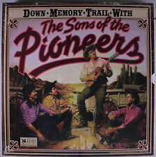SONS OF THE PIONEERS: Down Memory Trail With LP Sealed (7 LP box) rare Country