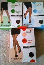 Leggs Style Essentials Pantyhose, 2 Pack, Different Sizes, Shades and Styles