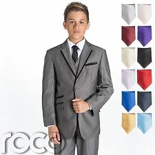 Boys Grey Suit, Grey Page Boy Suits, Wedding Suit, Boys Prom Suit