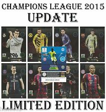 Adrenalyn 2014/2015 UPDATE Champions League Panini LIMITED EDITION card