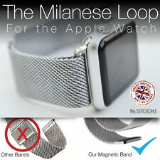 Milanese Loop strap band for Apple Watch stainless steel magnetic & best quality