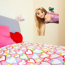 Tangled Rapunzel Kids Girls Bedroom Colour Vinyl Decal Wall Sticker Gift New