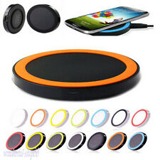 Portable Wireless Battery Charger Charging Pad For iPhone Samsung Galaxy S3 4 5