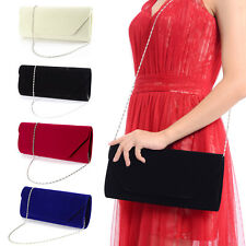 Italian Designer Soft Faux Leather Suede Women Bag Evening Clutch Bag Handbag