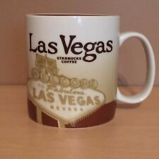 Starbucks Las Vegas Welcome Sign 16oz Mug Collector Series 2008 NEW