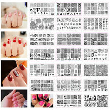 Nail Art Image Stamp Stamping Plates Manicure Template DIY Design Template Tool