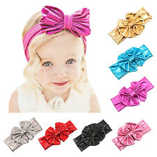 Toddler Girls Bow Hairband Soft Elastic Headband Gifts Hair Accessories Band