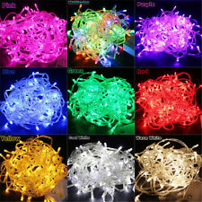 New 100/200 LED Electric String Fairy Lights Xmas Christmas Party Decoration