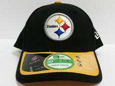 YOUTH Pittsburgh Steelers Cap New Era 39Thirty 2015 On-Field Sideline Hat