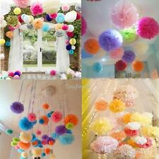 Buy 5 Get 5 free Tissue Paper Pom Poms Flower Ball Wedding Party Home Decoration