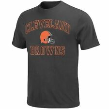 Cleveland Browns Majestic Big and Tall Heart & Soul III T-Shirt - Charcoal - NFL