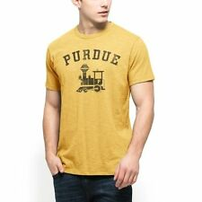 Purdue Boilermakers '47 Distressed Vintage Scrum T-Shirt - Gold - College
