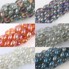 10/15/25Pcs Olive Czech Crystal Glass Loose Spacer Bead Finding 11*8/15*10/9*6mm