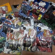 Wholesale Marvel & DC Comic Mens T-Shirts Batman,Superman, Avenger Mix design