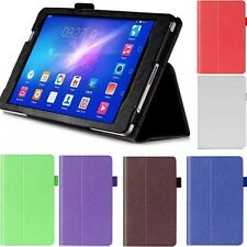 Hand Strap Leather Stand Card Slot Cover Case For Huawei Mediapad M2 M2-801 802