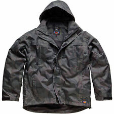 MENS DICKIES ARNDALE WATERPROOF JACKET SIZE S - XXL CAMOUFLAGE COAT JW90000