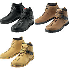 Icon Men's Superduty 4 Leather Motorcycle Boots - All Sizes & Colors