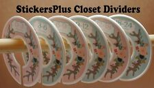 Baby Closet Size Dividers Hangers Tribal Deer Floral Antlers Clothes Organizers