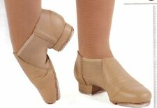 NEW/BOX Leather Neoprene Tap Boot ch/ladies sizes #3526 Tan or Black child sizes