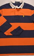 NWT Polo Ralph Lauren Custom Fit SIZE S & M Stripe Rugby Shirt