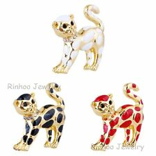 Hot Lovely Handmade Animal Brooch Pin Plating Gold Xmas Christmas Gifts Jewelry