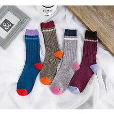 Ultra Comfortable Fashion Unisex Ethnic Style Sock Womens Men Cotton Warm Socks