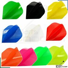 1/3/5/10 Or 20 Sets Plain/Neon Poly Standard Strong Elite Dart Flights