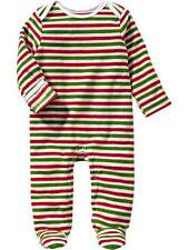 NWT OLD NAVY BOYS GIRLS FLEECE ROMPER FOOTED XMAS HOLIDAY   you pick size