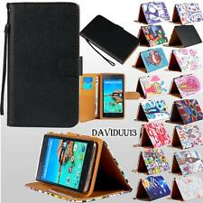 For Various Mlais Mobile Phones -Stand Leather Wallet Card Flip Folio Case Cover