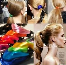 Pigtails Wig Hair Elastic Rope Rope Fluorescent Color Hair Ring