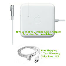 Genuine Original 45W 60W 85W MagSafe AC Power Adapter Charger Apple MacBook Pro