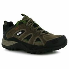 Karrimor Mens Ridge Walking Shoes Waterproof Lace Up Padded Insole Footwear