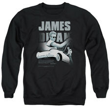 James Dean Icon Movie Actor Immortality Quote Adult Crewneck Sweatshirt