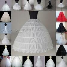 White A Line/mermaid hoop bridal Crinoline/Petticoat/Slips/Underskirt wedding