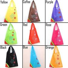 New Foldable Gnylon Strawberry Recycle Reusable Carrier Tote Bag Shopping Bag