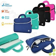 """Slim 15"""" Inch Sleeve Carrying Case Cover Bag Handle for 15"""" - 15.6"""" Inch Laptop"""