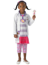 Child Disney Deluxe Doc Mcstuffins Fancy Dress Costume Book Week Doctor