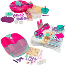 SWEET CARE MANICURE PEDICURE SET GIRLS HANDS SPA FOOT NAILS BODY BATH SALON NEW