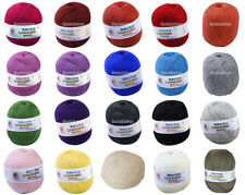 50g Soft Durable Cashmere Knitting Weaving Crocheting Wool Yarn U Pick Color