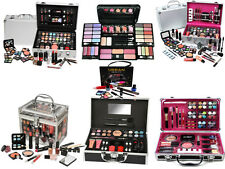 MAKE UP SET VANITY CASE BOX BEAUTY COSMETIC EYESHADOW BLUSHER LIPSTICK BAG GIFT