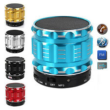 Portable Wireless Bluetooth Stereo Mini Speaker Mic Handsfree w/ TF Card Slot