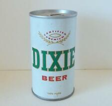 VINTAGE DIXIE BREWING NEW ORLEANS LOUISIANA BEER CAN STEEL B/O BEAUTIFUL