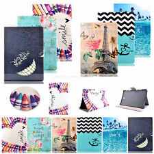 Fashion Pattern -MM PU Leather Wallet Stand Case Cover For Samsung Galaxy Tab